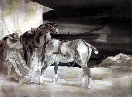Théodore Géricault - The Nap of the Stable-Lad