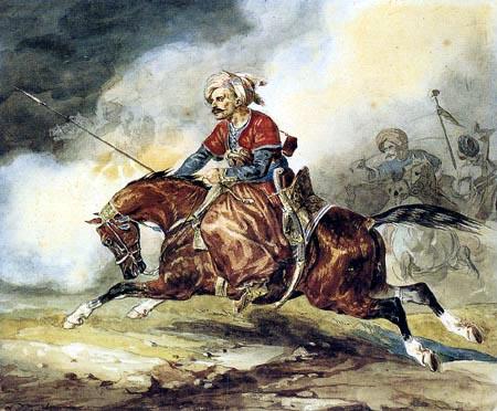 Théodore Géricault - Ein orientalischer Reiter
