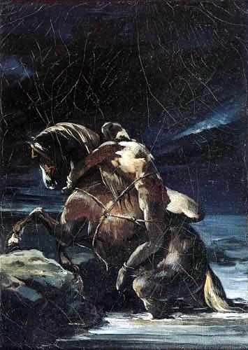 Théodore Géricault - Der Page Mazeppa