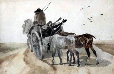 Théodore Géricault - Der Pferdetransport