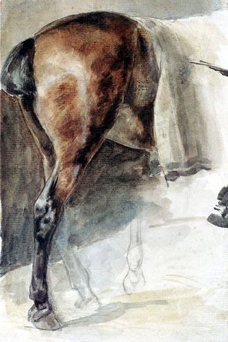 Théodore Géricault - Die Kruppe