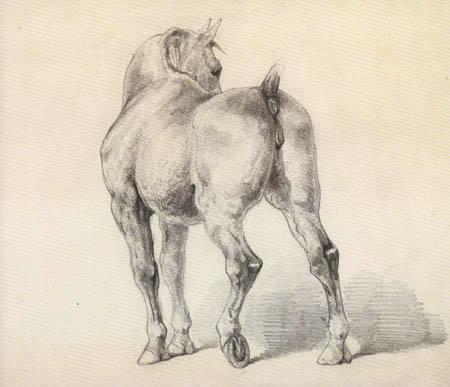 Théodore Géricault - Die Stute