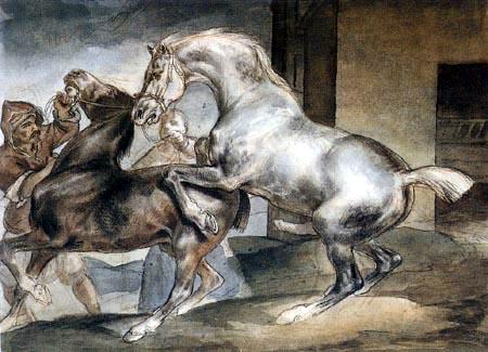 Théodore Géricault - Beim Decken