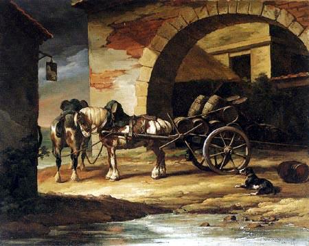 Théodore Géricault - Das Gespann