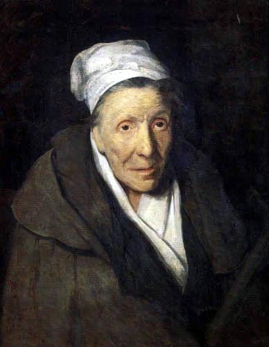 Théodore Géricault - Portrait einer Irren