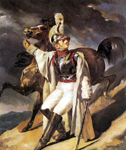Théodore Géricault - Verwundeter Kürassier