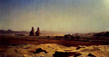 Jean Léon Gérôme - The plane near Egypt