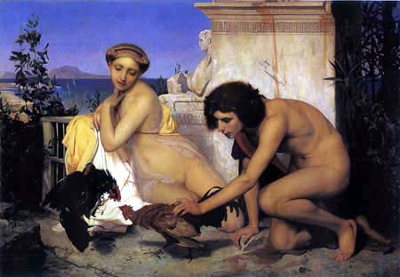 Jean Léon Gérôme - The Cockfight