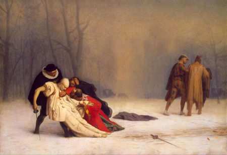 Jean Léon Gérôme - Duel After a Masquerade Ball