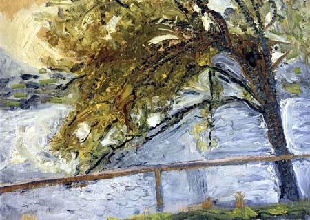 Richard Gerstl - Baum am Traunsee