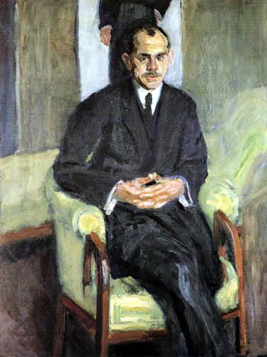 Richard Gerstl - Portrait of a Man