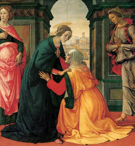 Domenico (di Tommaso) Ghirlandaio (Bigordi) - The Visitation