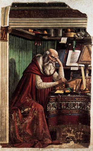 Domenico (di Tommaso) Ghirlandaio (Bigordi) - Der hl. Hieronymus