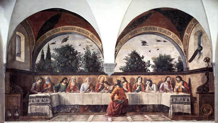 Domenico (di Tommaso) Ghirlandaio (Bigordi) - The Last Supper