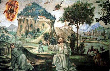 Domenico (di Tommaso) Ghirlandaio (Bigordi) - Stigmatisation des hl. Franziskus