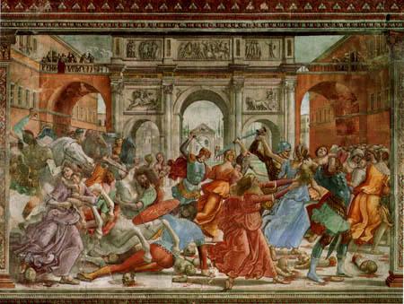 Domenico (di Tommaso) Ghirlandaio (Bigordi) - Masacre de los innocents