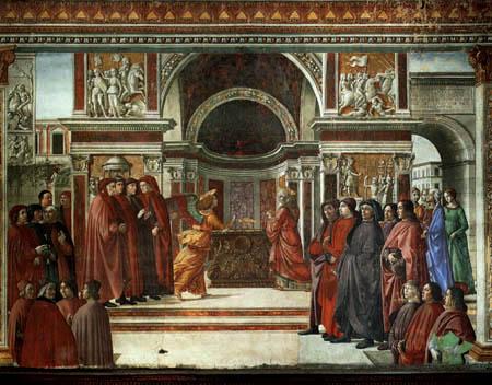 Domenico (di Tommaso) Ghirlandaio (Bigordi) - Annunciation