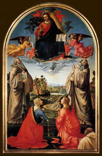 Domenico (di Tommaso) Ghirlandaio (Bigordi) - Christ in aureola