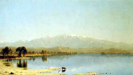 Sanford Robinson Gifford - White Mountains