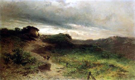 Eugenio Gignous - Treatening Thunderstorm