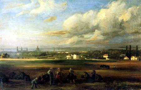 Christian F. Gille - Harvest worker before Dresden
