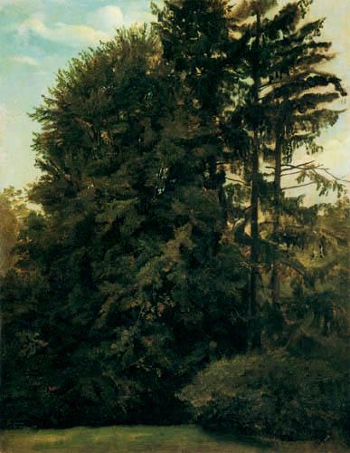 Christian F. Gille - Im großen Garten