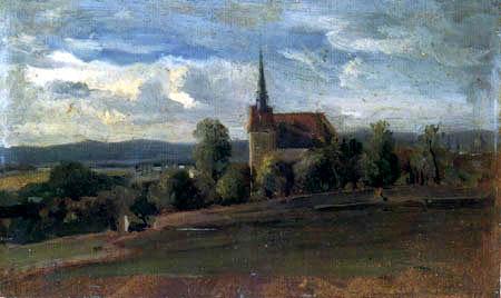 Christian F. Gille - Die Kirche von Plauen
