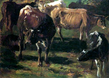 Christian F. Gille - Kühe auf der Weide