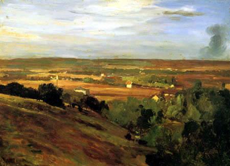 Christian F. Gille - Das Elbtal bei Dresden