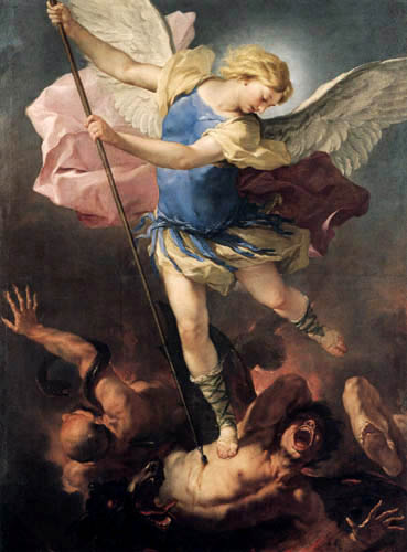 Luca Giordano - Saint Michael