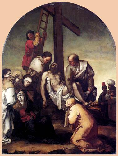Luca Giordano - Kreuzabnahme