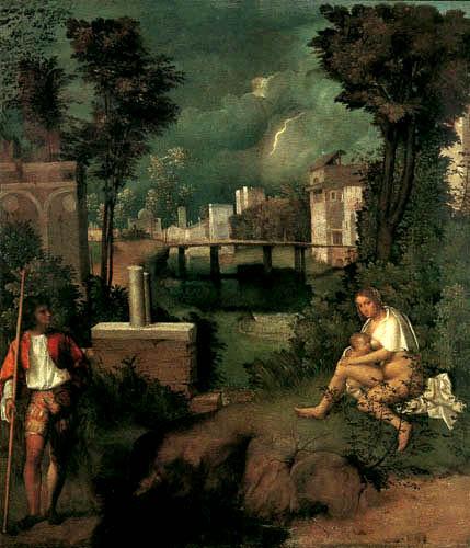 Giorgio da Castelfranco Giorgione (Barbarelli) - Le Orage