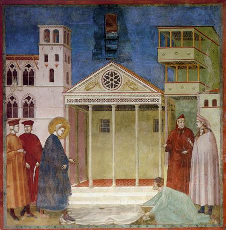 Giotto (di Bondone) - The Homage