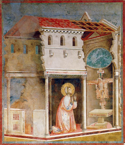 Giotto (di Bondone) - Prayer of San Damiano