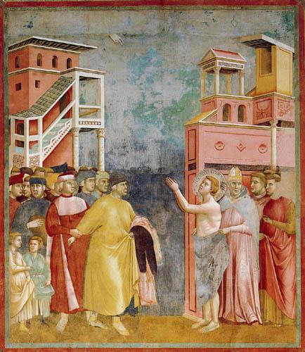 Giotto (di Bondone) - The abdication