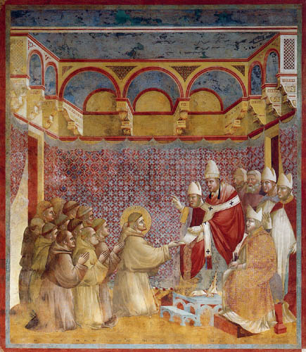 Giotto (di Bondone) - The confirmation of the rules