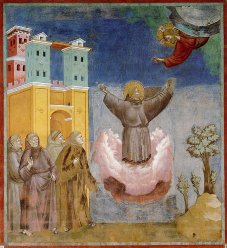 Giotto (di Bondone) - The vision
