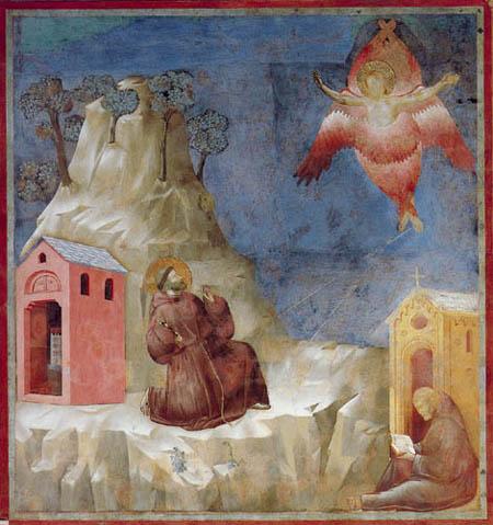 Giotto (di Bondone) - Stigmatisation