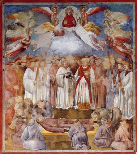 Giotto (di Bondone) - The death of a Saint