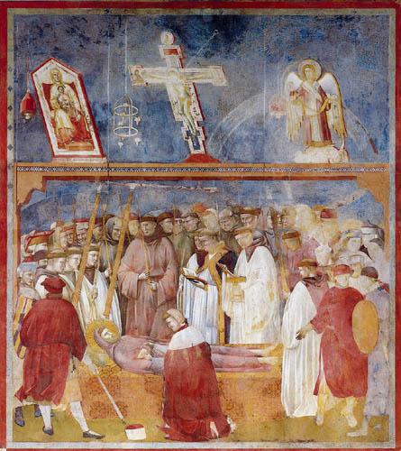Giotto (di Bondone) - The investigation of the wounds