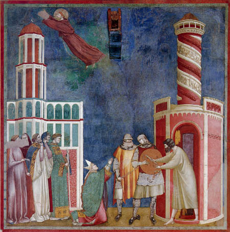 Giotto (di Bondone) - The released Pietro