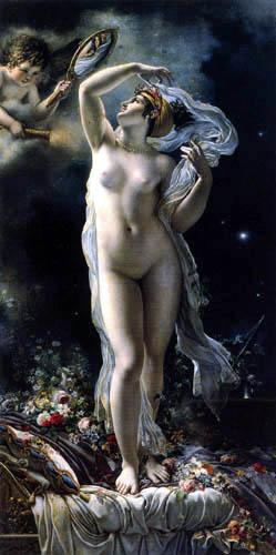 Anne Louis Girodet de Roussy (Roucy)-Trioson - Mademoiselle Lange as Venus