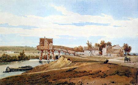 Thomas Girtin - Mühle bei Charenton