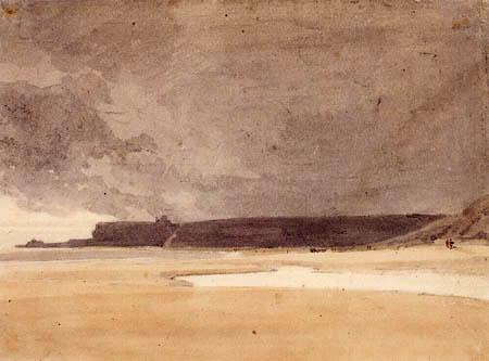 Thomas Girtin - Ferner Blick auf Whitby, Northumberland