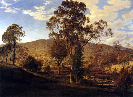 John Glover - View of the plane of Mills