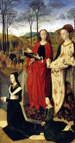 Hugo van der Goes - Portinari Triptychon, rechter Flügel