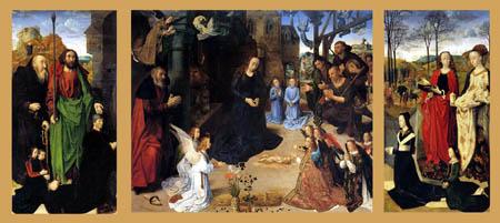 Hugo van der Goes - Portinari Triptychon