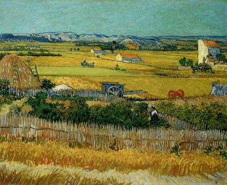 Vincent van Gogh - Die Ernte