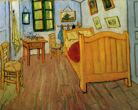Vincent van Gogh - Vincent´s Zimmer in Arles