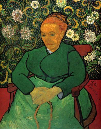 Vincent van Gogh - Bildnis Madame Roulin